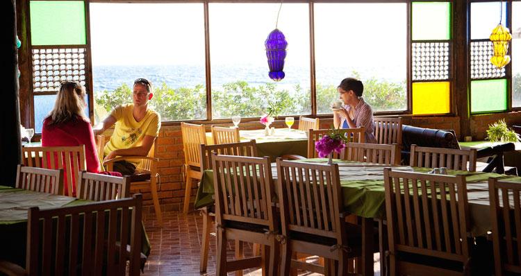 Restaurant at Coral Coast Hotel Dahab