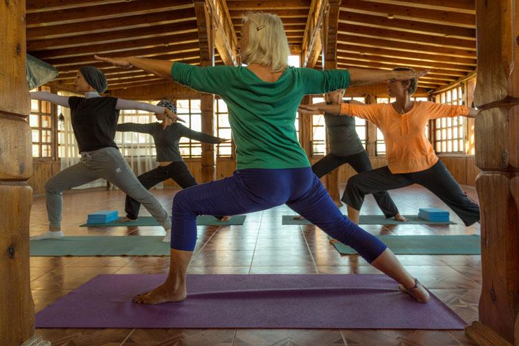 Iyenger Yoga in Dahab